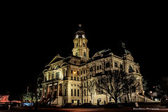 Tarrant County Courthouse - Night (Zane Adams.TX) Tags: city house building night court dark lights texas courthouse fortworth
