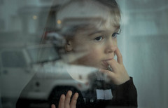 bye - 32/365 - {explored} (auntneecey) Tags: reflection window explore goodbye bye day32 dirtywindow odc day32365 365the2015edition 3652015 1feb15