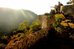 Under the arclights (Shachi Trivedi (Catching up slowly)) Tags: india heritage history fort fortress rajasthan kumbhalgarh kumbhalgarhfort