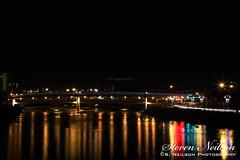 Louise Riley Bridge at Night (S. Neilson Photography) Tags: bridge calgary beautiful night riley photography lights scene louise yyc