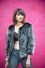 Furry Tales from India (Anoop Negi) Tags: road autumn winter india hot sexy girl fashion fur model perfect designer delhi location wear fabric jacket faux anoop aw negi mathura 2015 sharma wallah prerna ezee123 aw2015 bohoz fashionwallah