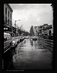Ramona St (salar hassani) Tags: street film delta d76 400 pro fujifilm ramona palo alto ilford ga645zi