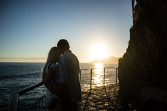 Sunset love (batistaphoto) Tags: sunset italy love couple italia terre manarola cinque