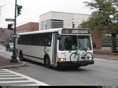 CARTA 1422 (TheTransitCamera) Tags: city bus public metro d south transport system charleston transportation transit carolina service carta flxible carta1422