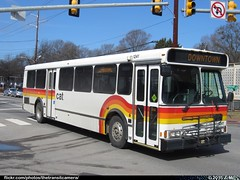 Capital Area Transit 1241 (TheTransitCamera) Tags: city urban bus public cat nc state capital north raleigh system v transportation transit orion area carolina service obi 05501 rcat1241