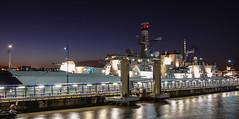 HMS Lancaster (Dave McGlinchey) Tags: uk sea night liverpool nikon ship military ships vessel nightime gb frigate warship merseyside royalnavy rivermersey princesdock d7100 hmslancaster f229 nikonafsdxzoomnikkor1855mmf3556gedii dukeclass23frigate