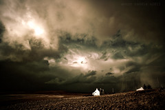 storm over head (SkyeBaggie) Tags: house north croft end lonely stormlight kilmuir stormforce isleofskyescotland