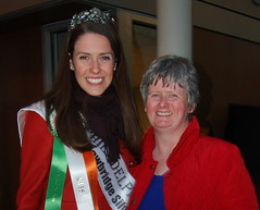 Philadelphia Rose Mairead Comaskey with her mother Breda
