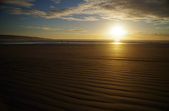 Ninety Mile Beach 2 (Markj9035) Tags: ocean sunset sea reflection beach reflections waves northland 90milebeach ninetymilebeach northlands