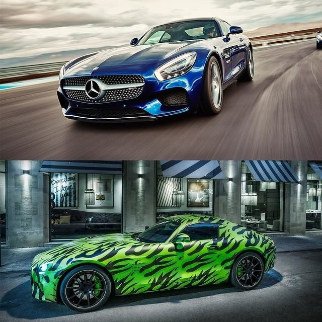 #BlueSteel or #LeTigre? #Zoolander2 #Mercedes #Benz #AMGGT #AMG #GT #Zoolander #instacar #carsofinstagram #germancars #luxury photo from mbusa