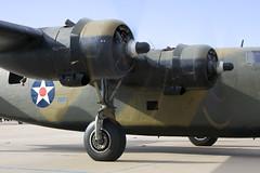 B-24 'Ol' 927' at Airsho' 2011 (atg3v) Tags: usa texas aviation odessa consolidated caf liberator warbird midland maf b24 usaaf airsho commemorativeairforce n24927 ol927 kmaf