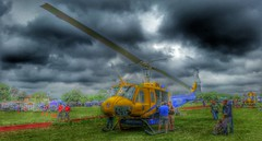 Travis County, TX StarFlight Fire Bell UH-1 Huey Wildfire Helicopter in HDR (CenTexPhoto) Tags: austin waterdrop texas tx huey waterbomber bellhelicopter centraltexas aerialfirefighting starflight uh1h droptank starflightrescue traviscountystarflight traviscountyfire fireaviation undercarriagetank