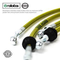 Rolloface high-speed flow stainless steel brakes hose. 100% Made in the USA. (Rolloface 7) Tags: usa lifestyle bmw brakes bbk stance bimmer caliper bigbrakekit brakerotors assembledintheusa rolloface brakeshose