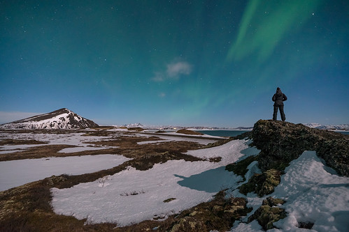 'Moonlighting In Iceland' - Myvatn, Iceland