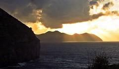 Playa de Sonabia (kadege59) Tags: sunset sea espaa seascape beach nature clouds mar spain meer europe natur playa biskaja