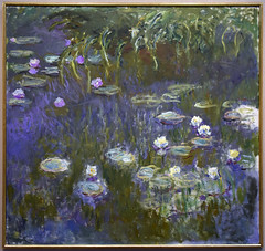 Water Lilies, c. 1923 (Mr. History) Tags: monet waterlillies water blue french france impressionism