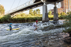 Denver_20160711_065 (falconn67) Tags: city travel bridge creek canon river colorado surf surfing denver southplatteriver 24105l highlandbridge 5dmarkii