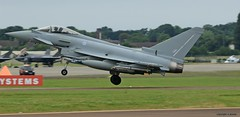 Eurofighter Typhoon J78A1737 (M0JRA) Tags: tattoo flying aircraft air jets planes eurofighter typhoon airshows riat
