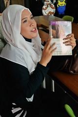 Jakarta Book Club: Foodie Adventure (Miss Ollie) Tags: jakarta bookclub jbcjuly16 jbcfoodie hijab