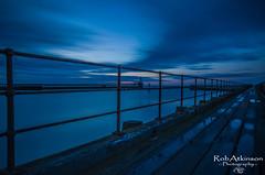 Blyth pier (R0BERT ATKINSON) Tags: sea sky water sunrise pier northumberland eastcoast blyth northeastengland sigma1020 leefilter nikond5100 robatkinsonphotography