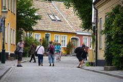 Streets of Lund (Maria Eklind) Tags: street city lund se sweden sverige cityview skneln