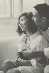 Nhung Tra & Quoc Le 2nd Anniversary 2016 (Krystz) Tags: love afterwedding anniversary nhungtra quocle blackwhite bw monotone monochrome canon 5dmkii sofa 2ndanniversary ldk ledangkhoa ledangkhoaldk vuongkhaivy saigon vietnam