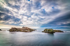 Instagram: pandevonium_images Seascape Fineartphotography Fineart Horizon Over Water Sea Long Exposure Beautiful Rocks Rock Formation (Nick Pandev) Tags: seascape fineartphotography fineart horizonoverwater sea longexposure beautiful rocks rockformation