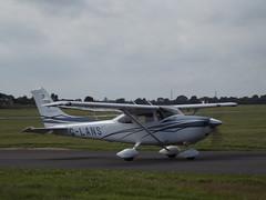 G-LANS Cessna 182 (Aircaft @ Gloucestershire Airport By James) Tags: james airport oxford glans cessna lloyds 182 egtk