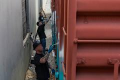 (o texano) Tags: houston texas graffiti trains freights traingraffiti actionandwords corpse hd rtd sfr sleep railheads jumps nfm stk