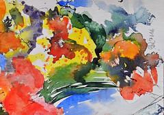 258 Abstrakt (Wuwus Bilder) Tags: watercolour aquarell abstrakt kunst art