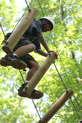 Challenging fun on the High Ropes Course