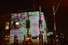Gertrude Street Projections Festival (dok1969) Tags: melbourne lights projections victoria winter australia fitzroy night