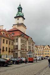 Rynek w Jeleniej Grze (klio2582) Tags: townhall marketsquare jeleniagra