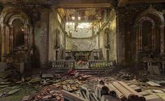 der Herr gibt es, der Herr nimmt es (mariburg) Tags: abandoned alt decay ruin forgotten urbanexploration rotten desolate derelict 6d marode lostplaces canonef1635mmf4lisusm canoneos6d