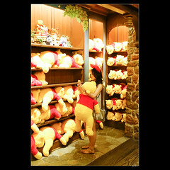 DSC02974 (leeyu_flickr) Tags: travel japan tokyo escape    disneyland  pooh hunny hunt   beauty lady girl woman  legs