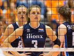 17251259 (roel.ubels) Tags: volleybal volleyball nederland oranje holland zuidkorea southkorea rotterdam topsportcentrum sport topsport 2016