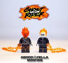 Ghost Rider [CUSTOM] [MOD] [COMICS] (agoodfella minifigs) Tags: lego marvel legomarvel marvellego ghostrider comics custom legosuperheroes legomarvelsuperheroes defenders