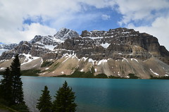 Spectacular mountains and glacial lakes on the Icefields Parkway route (vietnamvera) Tags: icefieldsparkway canadianrockies canada glaciallakes