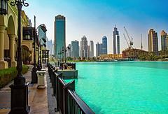 HFF  Dubai (werner boehm *) Tags: wernerboehm dubai hff uae architektur wasser teich