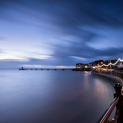 Just the Pier (~g@ry~ (clevedon-clarks)) Tags: clevedon clevedonpier longexposure 6stopnd nikkorafs1635mmf4gedvr seascape seafront victorian victorianpier somersetnorth somerset hightide hitechfilters clouds storm lights cloud sky outdoor