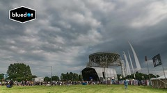 Brian Eno Art Installation Timelapse - Jodrell Bank/ Bluedot Festival (Kristofer Williams) Tags: jodrellbank lovelltelescope radiotelescope brianeno artinstallation bluedotfestival timelapse video night projection telescope