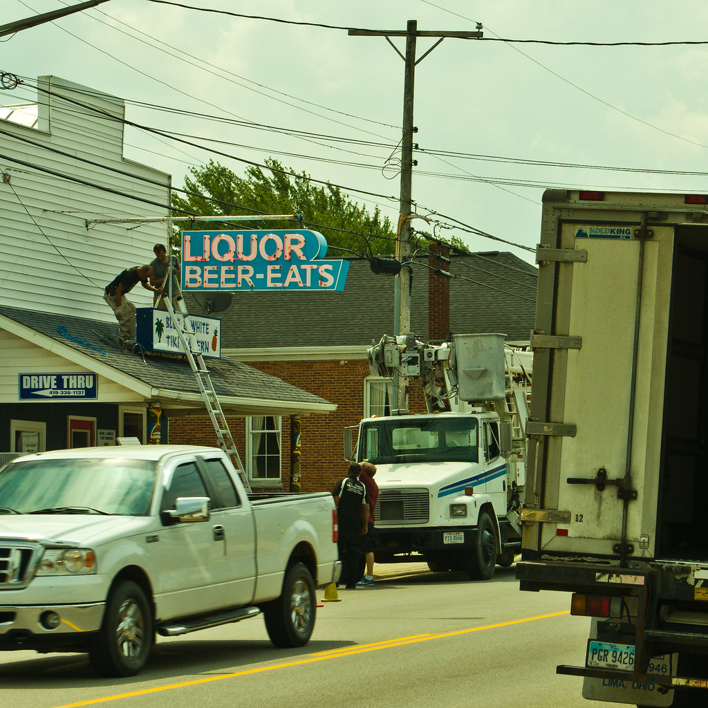 Ohio darke county north star - Sign Repair Ramseybuckeye Tags North Star Ohio Darke County Route 127 Us Pentax