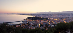 Nissa la Bella (fredMin) Tags: nice sunset long exposure travel panorama alpes maritimes france fuji fujifilm xt1 fuijinon 1855 mediterranean sea