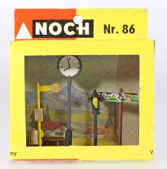 Noch 86 (adrianz toyz) Tags: plastic ho 187 scale model railway kit noch west germany 86 street furniture adrianztoyz