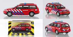 CAR-72-VW-PassatEst-FireNL (adrianz toyz) Tags: diecast toy model car abrex cararma 172 scale vw passat estate dutch fire service volkswagen brandweer hongwell