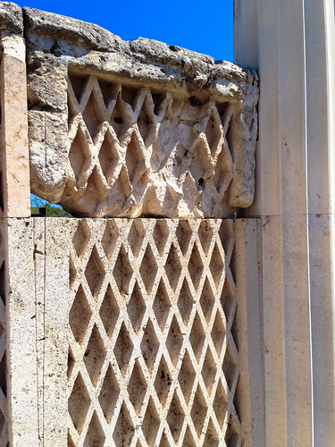 Wall pattern on the Abaton or Enkoimeterion, Epidaurus