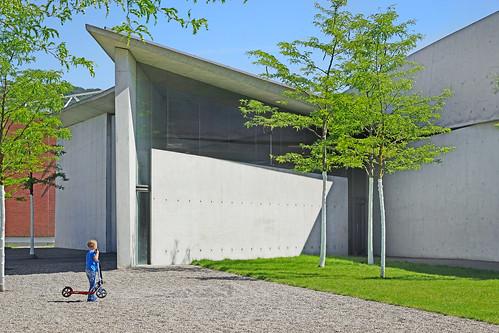 La caserne de pompiers du Campus Vitra (Weil Am Rhein, Allemagne)