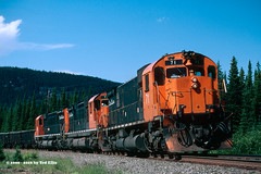 Quebec Cartier Mining 71 Charles QC 7-15-2000 (Frater Operator) Tags: quebeccartiermining qcm alco mlw