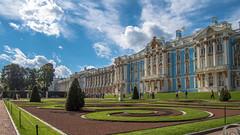 The Catherine palace, Tsarskoye Selo, St Petersburg (pilot3ddd) Tags: stpetersburg catherinepark catherinepalace pushkin tsarskoyeselo olympuspenepl7 panasoniclumixg1232 diamondclassphotographer