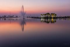 M O D O N  L A  K E (alvinpurexphotography) Tags: modonlake lake water dammam ksa park fountain longexposure